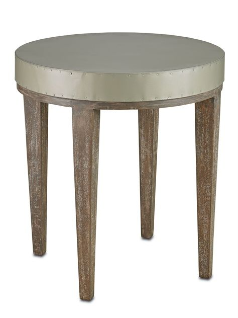 3165 Wren Large Round Accent Side Table Dia 24 H 26 $740.00 #2Foot