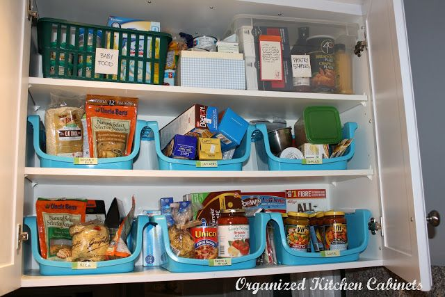 Simcoe Street Organizing Kitchen Cupboards Food Storage Dollar Store Organizing Kitchen Kitchen Organization Kitchen Cupboard Organization