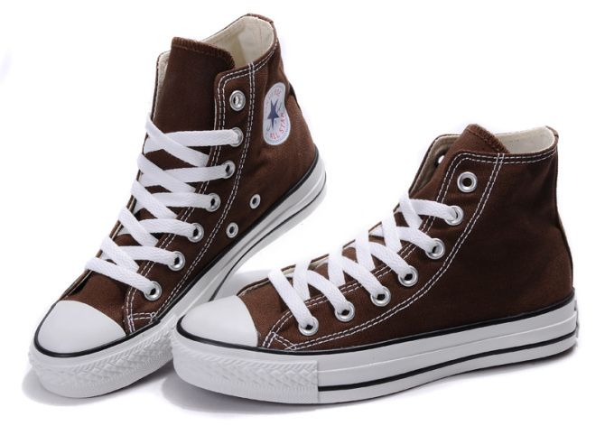 09f25c36e1b5 Converse All Star HI Saddle Brown