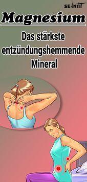 Warum Magnesium das stärkste entzündungshemmende Mineral ist, das Menschen kennen   - Fitness -   #d...