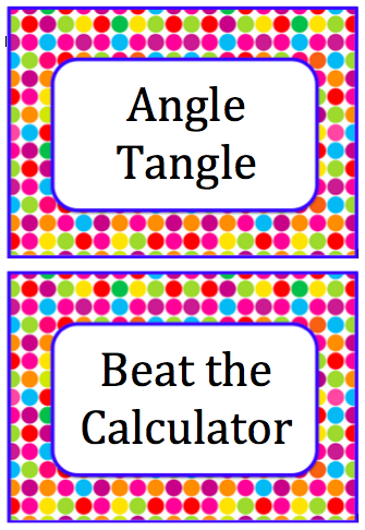 Everyday Math Game Instructions And Labels With Images