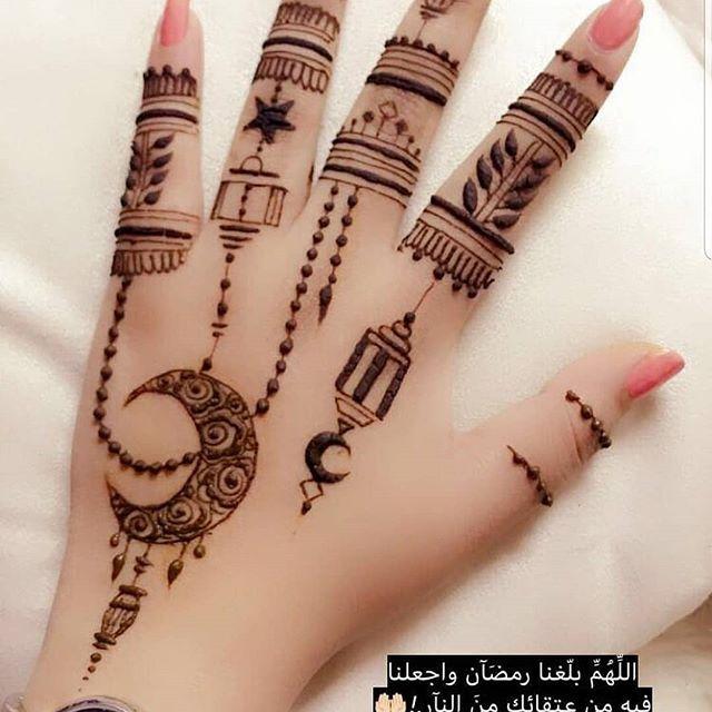 تصاميم حنه لشهر رمضان Henna Tattoo Designs Henna Tattoo Hand New Mehndi Designs