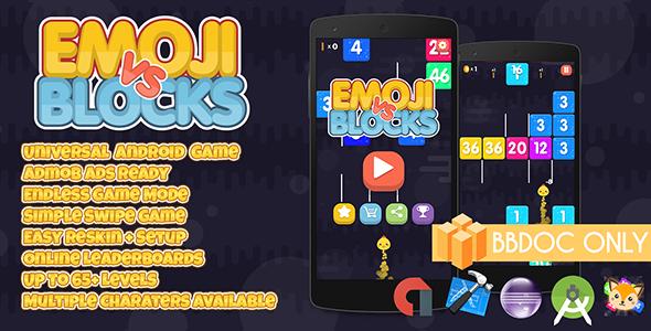 Emoji vs Blocks Buildbox (BBDOC + Android Studio + Eclipse +