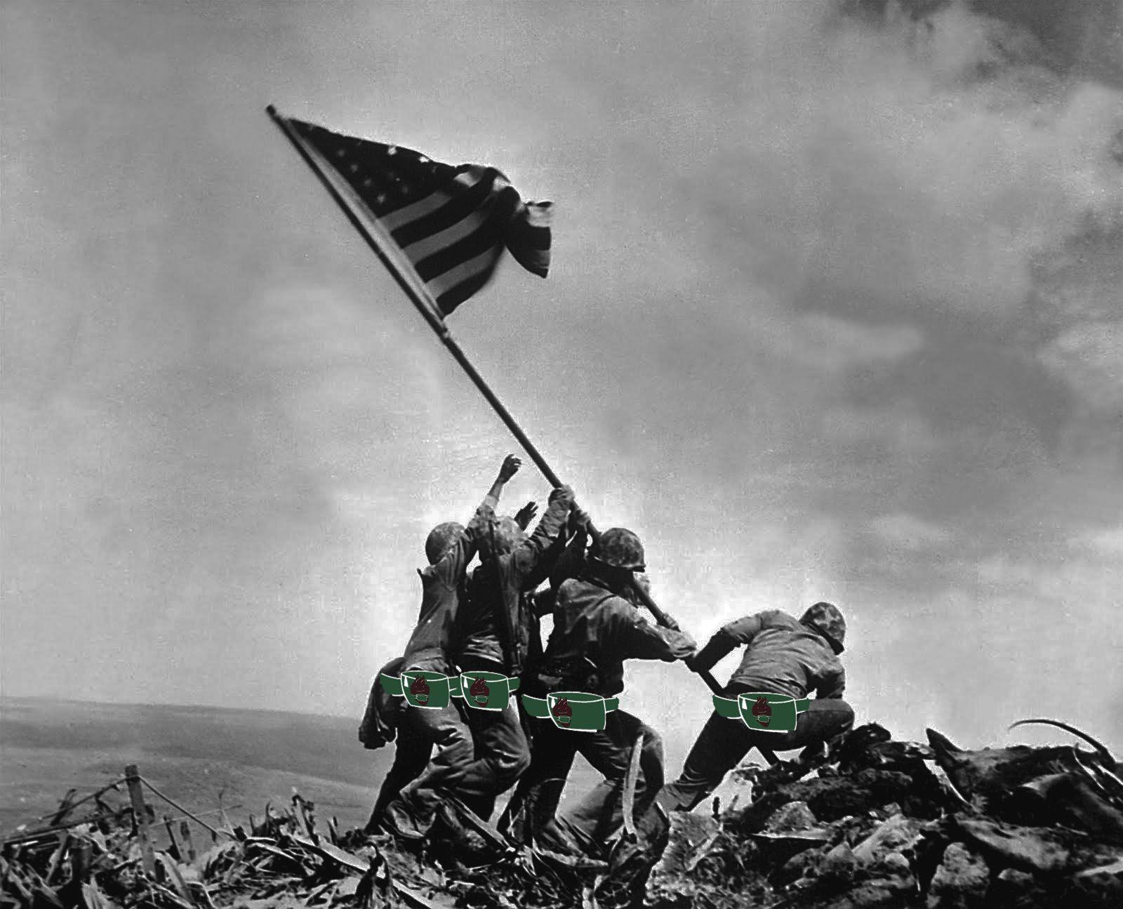 Raising The Flag Over Iwo Jima 1600 1295 Raising The Flag On Iwo Jima Wallpapers 36 Wallpapers Adorable Wallpapers Iwo Iwo Jima Wallpaper