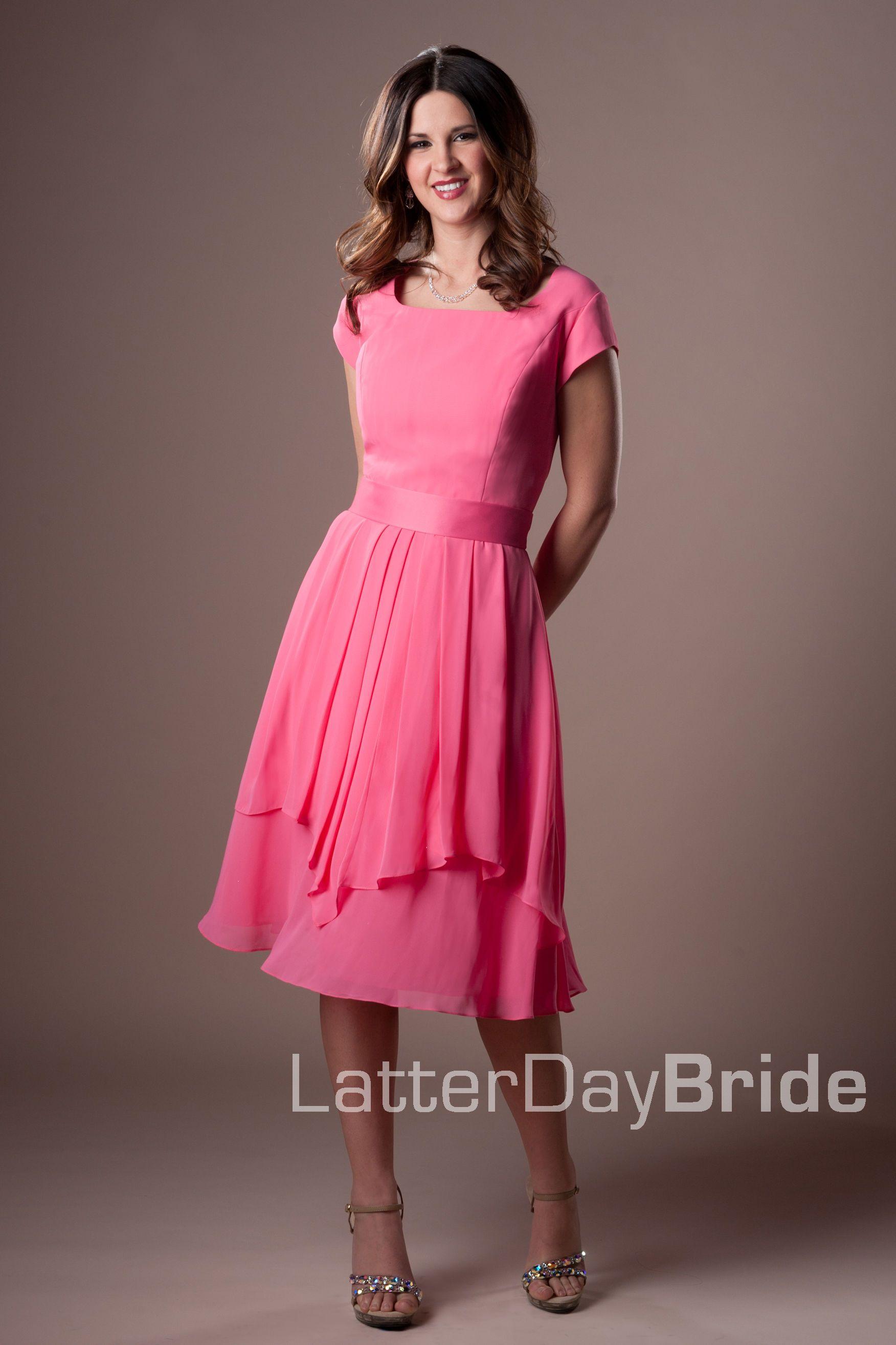 Bridesmaid & Prom, Mariam   LatterDayBride & Prom Modest Mormon LDS ...