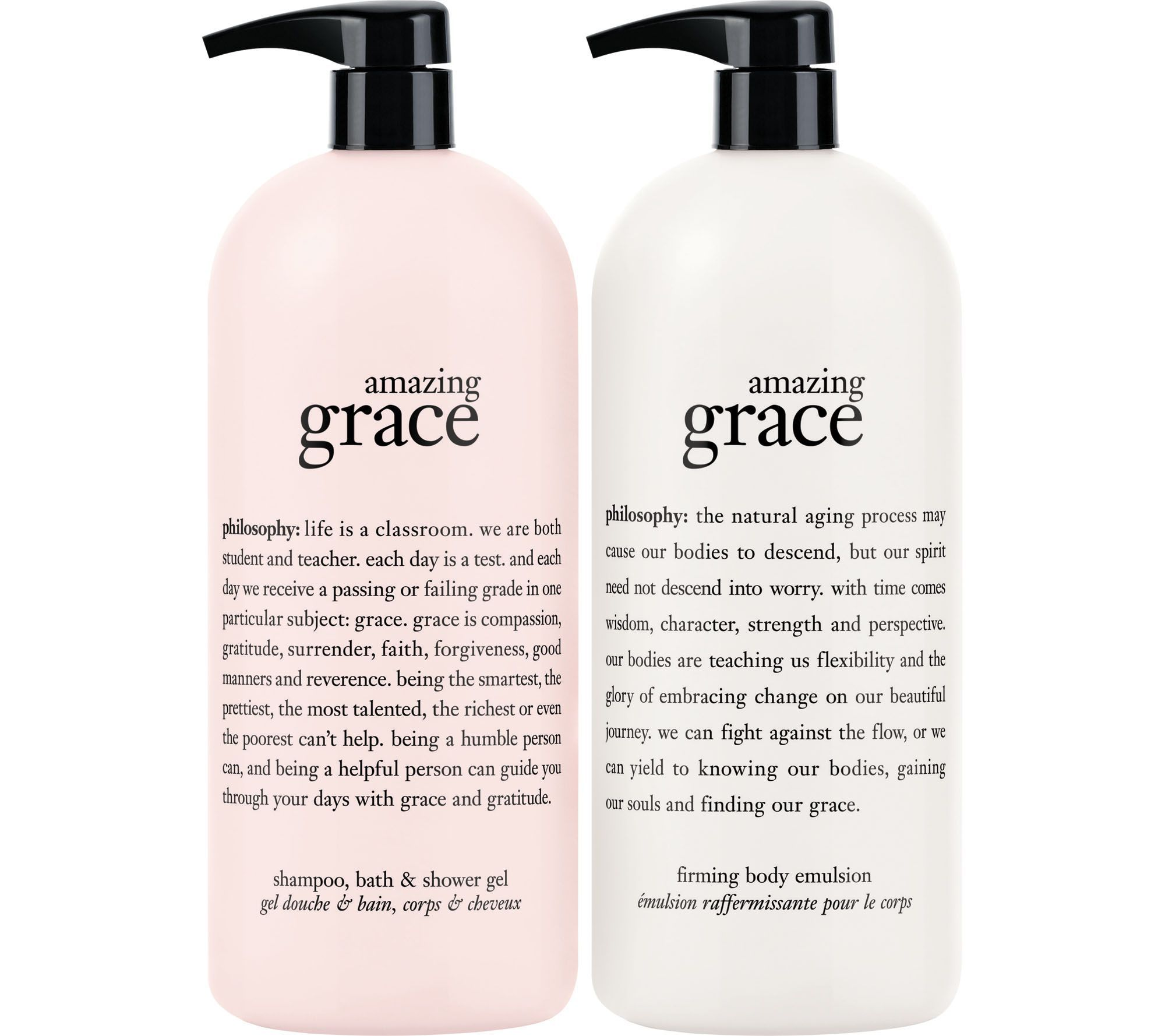 Philosophy Super Size Fragrance 3 In 1 Gel Body Lotion Duo Qvc Com Body Lotion Lotion Philosophy Skin Care