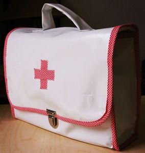tuto malette de docteur couture pinterest tuto couture sac et sac. Black Bedroom Furniture Sets. Home Design Ideas