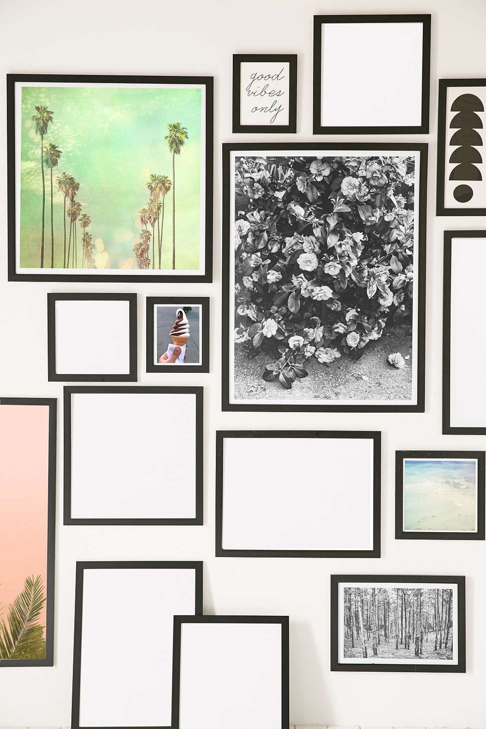 Black matte art print frame interior design ii pinterest