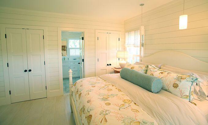 Cottage Beach House Decor | Found on houseofturquoise.com