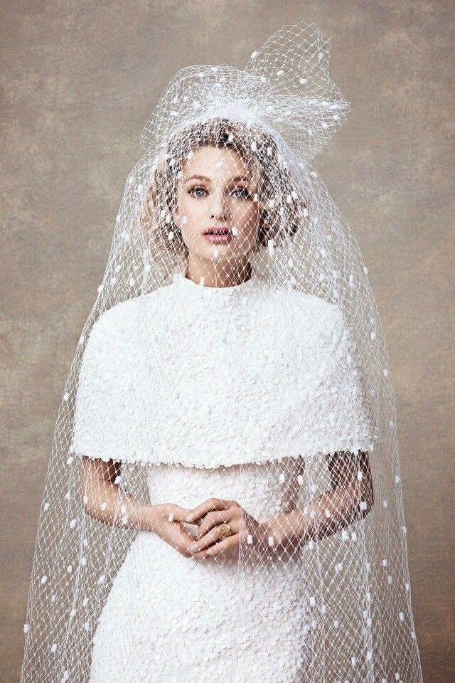 Gorgeous Vintage Inspired Bridal Look By Dauphine Magazine Wedding Cape VeilSnow White