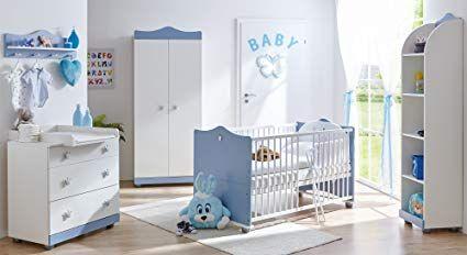 Ticaa Babyzimmer Prinz 5 Teilig Blau Babyzimmer Ideen