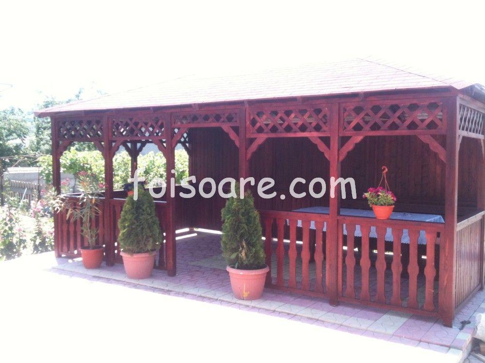 Foisoare De Gradina Modele Dreptunghiulare Craiova Patio Design Pergola Shed Homes