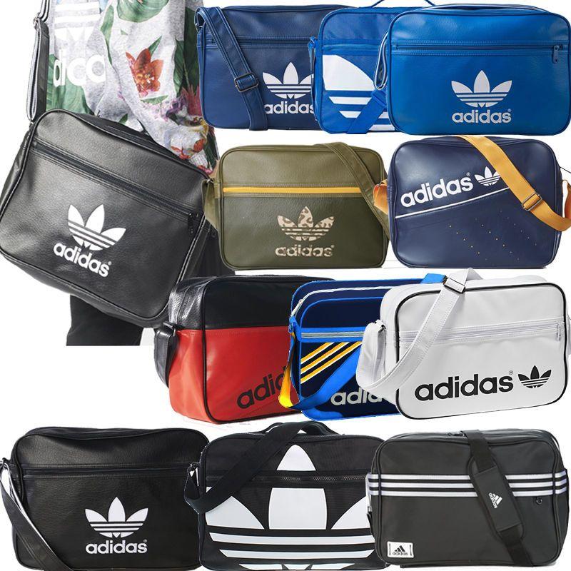 a0b6ff4a2e1 Adidas Originals Bags - Mens Boys Girls Adidas School Side Bags Shoulder  Bags