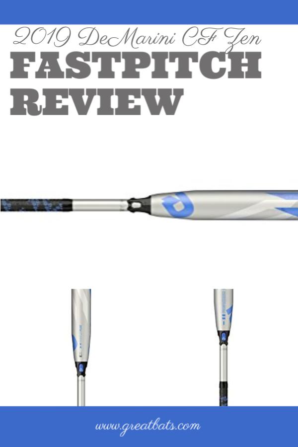 2019 DeMarini CF Zen Fastpitch Bat Review   Fastpitch