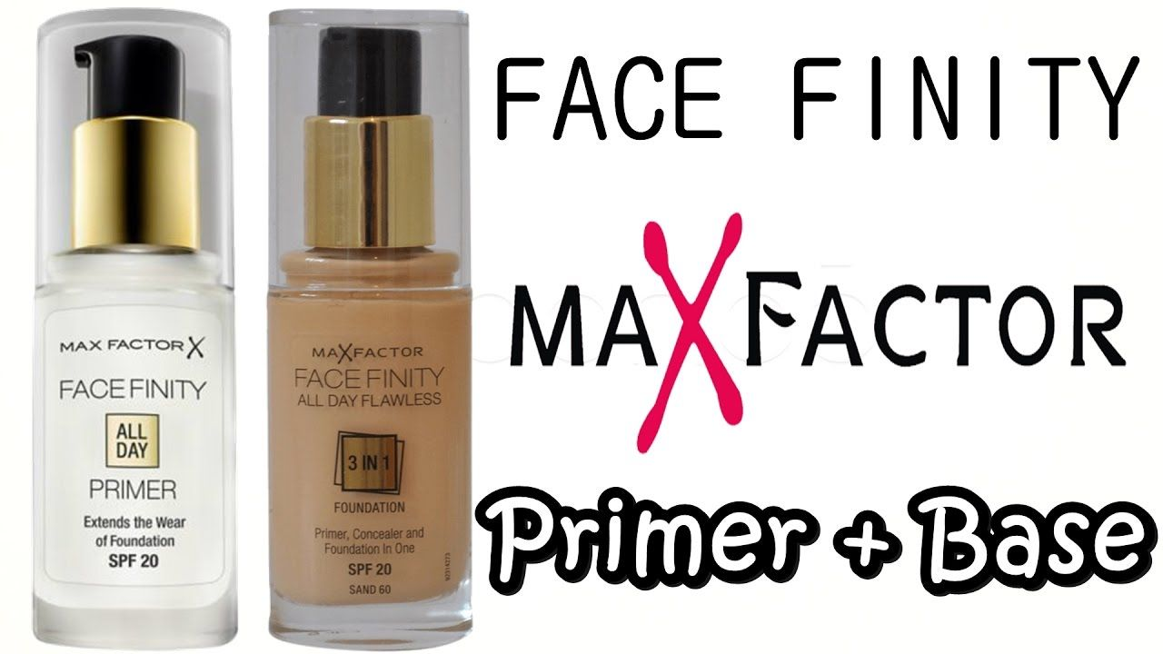 Face Finity Max Factor Primer Base De Maquillaje 3 In 1 Mejor
