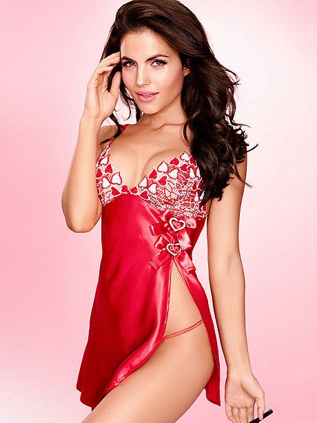 a hint of shimmer lets your love shine a sexy little surprise for your sweetheart - Lingerie For Valentines
