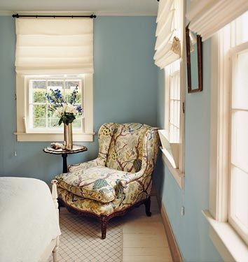 Bedrooms. Walls are painted Riviera Azure by Benjamin Moore  Flickr poster
