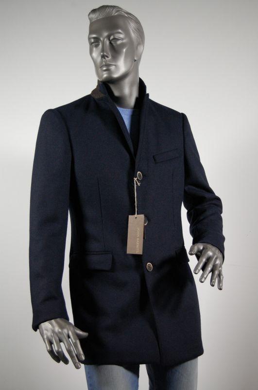 c53a52cad9b179 Coat fashion slim fit Blue Man john barritt | Abiti Uomo-Man clothes ...