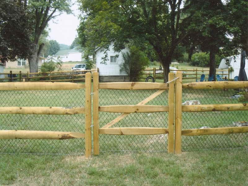 Diy Fence How To Build A Split Rail Gate