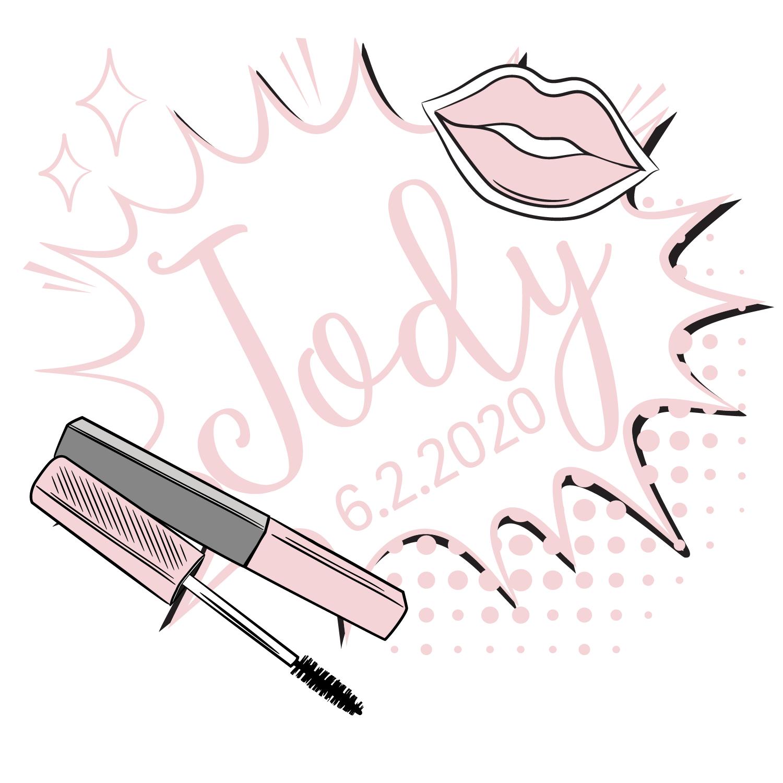 Makeup Bat Mitzvah Logo Design Bat Mitzvah Logo Bat Mitzvah Logos Design Make Your Logo