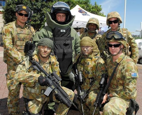 Australian Navy Clearance Diving Team One Members Military Marines Australian Special Forces Australian Defence Force