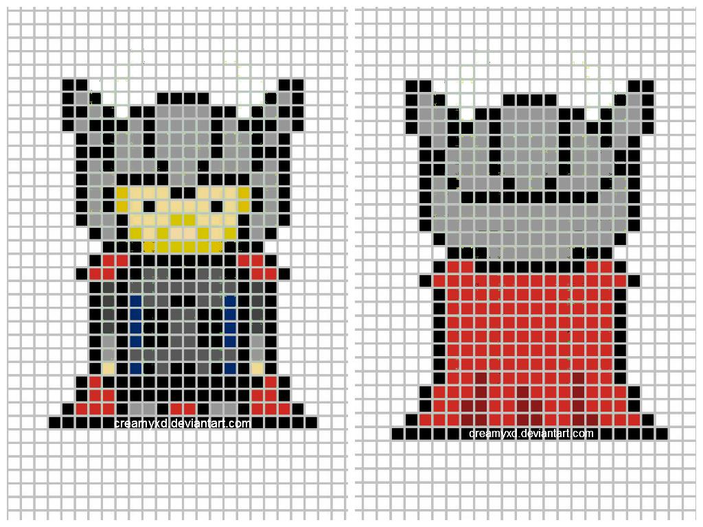 Thor cross-stitch keychain template by CreamyXD on DeviantArt ...