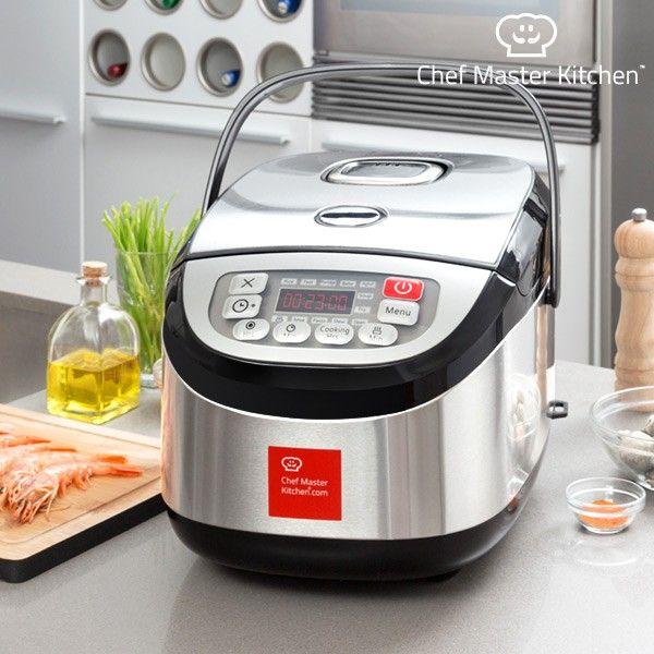 Robot da Cucina Chef Master Kitchen Inox Cook 1,8 L 900W Nero Acciaio