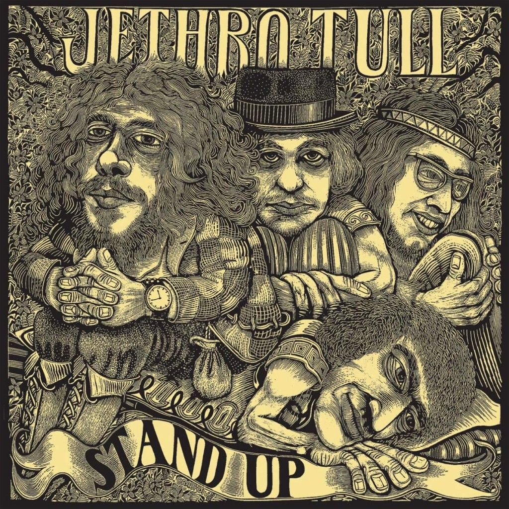 Stand Up Album Cover Art Rock Album Covers Greatest Album Covers