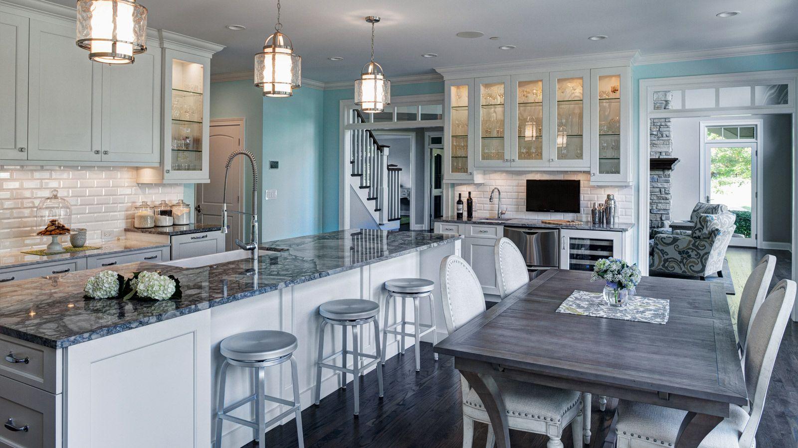 Fresh & Traditional Aurora Kitchen Remodel - Drury Design | Cabinet ...
