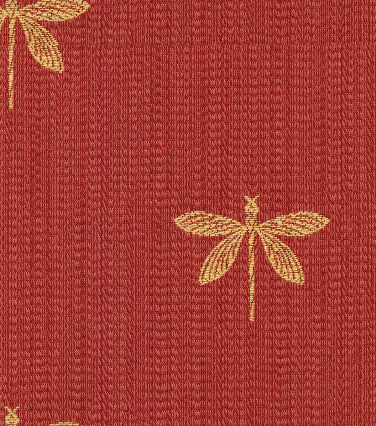 Joann fabric swavelle millcreek upholstery fabric imperial dragonfly marachino