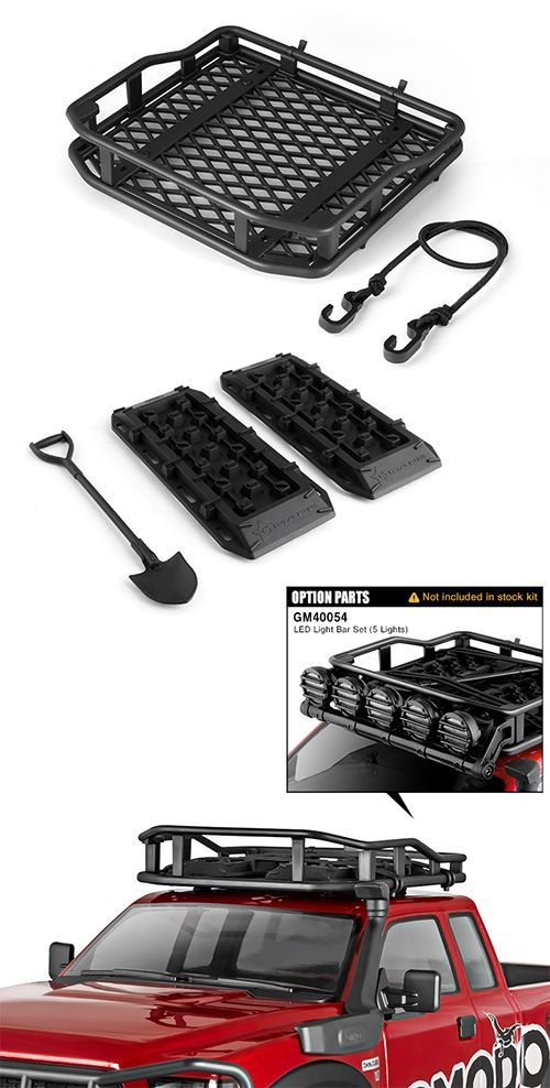 Komodo 1 10 Scale Off Road Roof Rack Accessories Roof Rack Offroad Jeep Wrangler