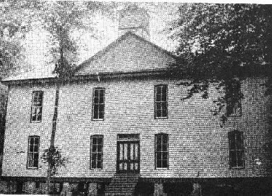 Crew Normal College, founded in 1889 in Lamar County ...