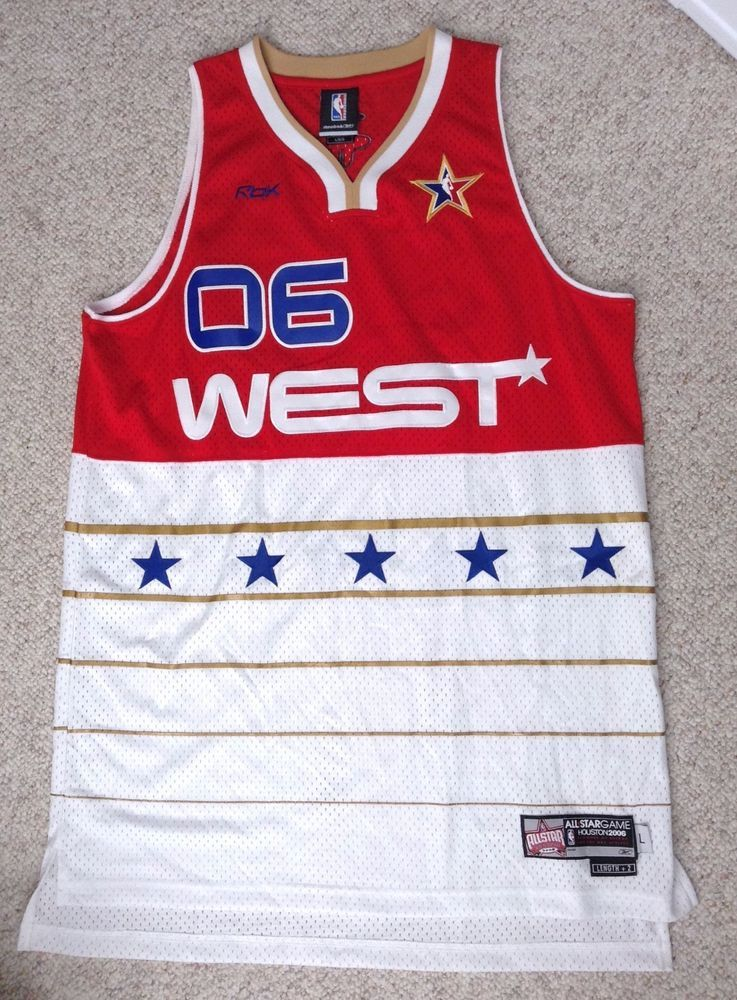 nwot 2006 NBA WEST ALL-STAR GAME JERSEY Houston 06 Western Conference MENS  LRG  Reebok  HoustonRockets 7fe148ee4