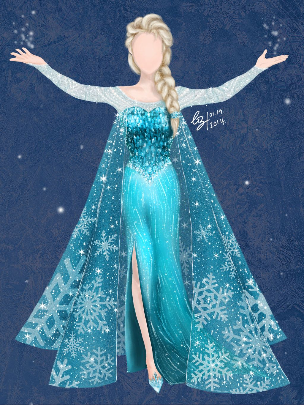 Elsa Dresses S Dress Disney Frozen By Gabriellayoo