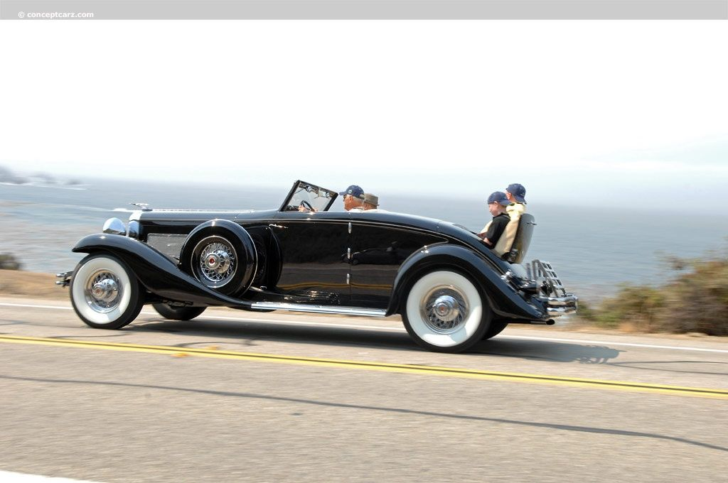 duesenberg | 1936 Duesenberg Model JN Images, Information and ...