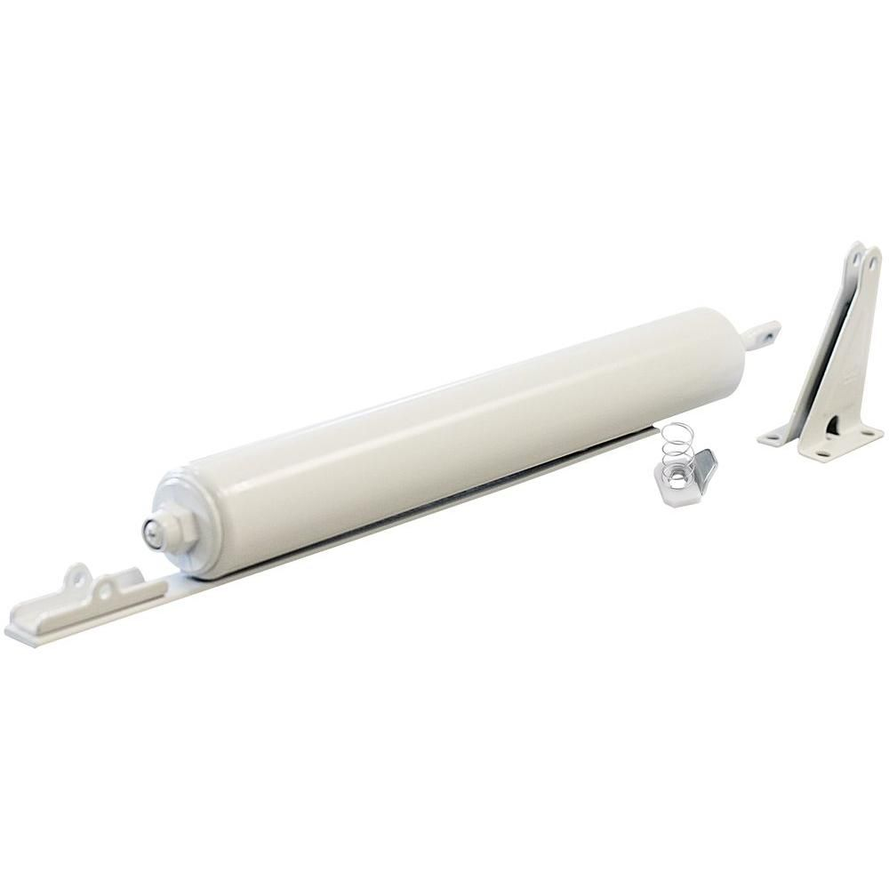 Ideal Security Heavy Storm Door Closer With Torsion Bar White