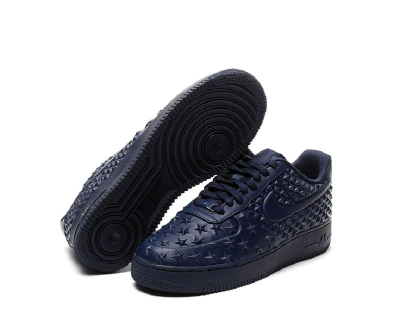 premium selection 26a1b 56950 Nike Air Force 1 LV8 Vach Tech Independence Day Star Navy Blue Midnight Navy