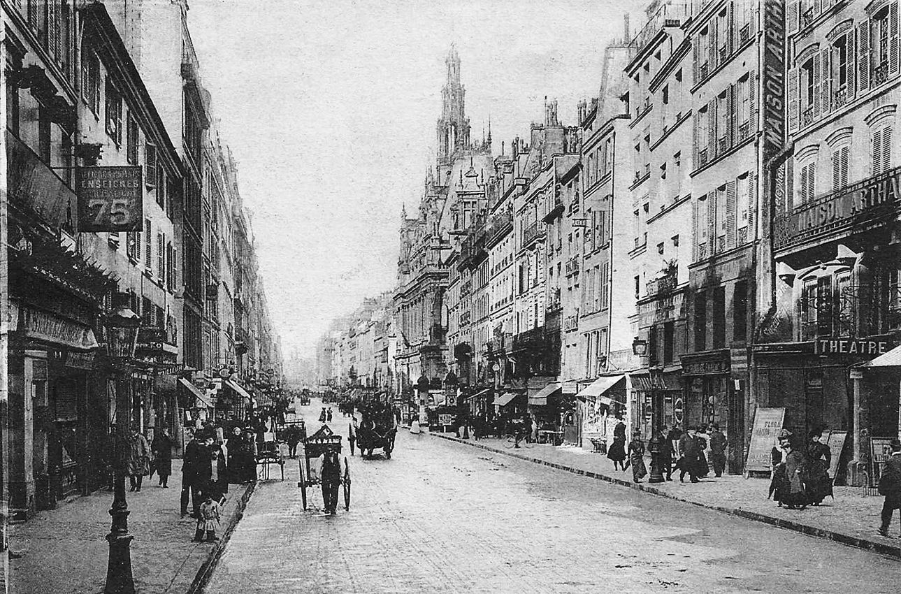 Rue du Faubourg Saint-Martin - Paris 10e
