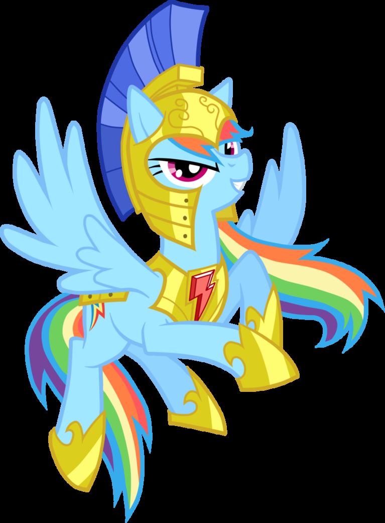Guardian Rainbow Dash.
