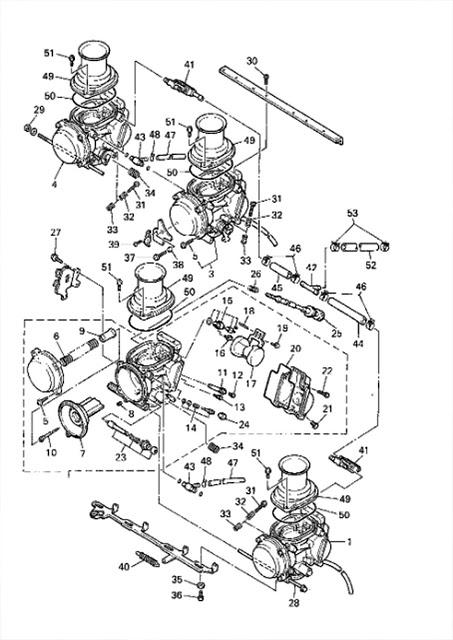 Yamaha Yzf600 Wiring Diagram : Yamaha Motorcycle Wiring