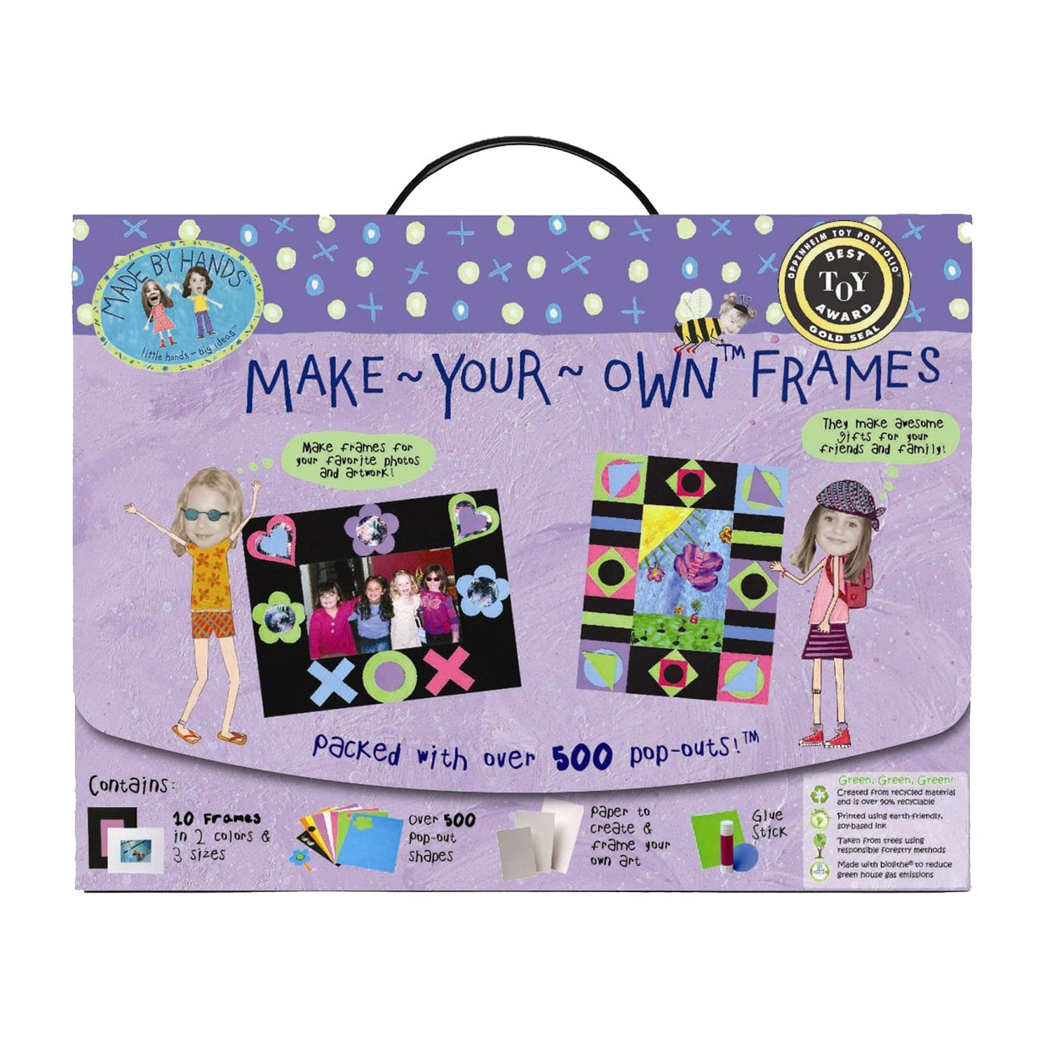 Made by hands make your own frames kit make it yourself