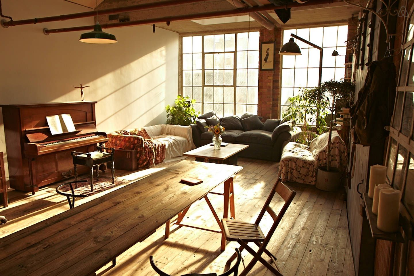 EntireHome:1000+Sq Ft Loft in Former Shoe Factory - 伦敦的阁楼 出租, 英国