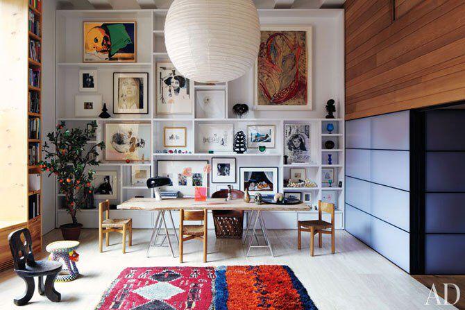 GALLERY WALL inez & vinoodh appartement