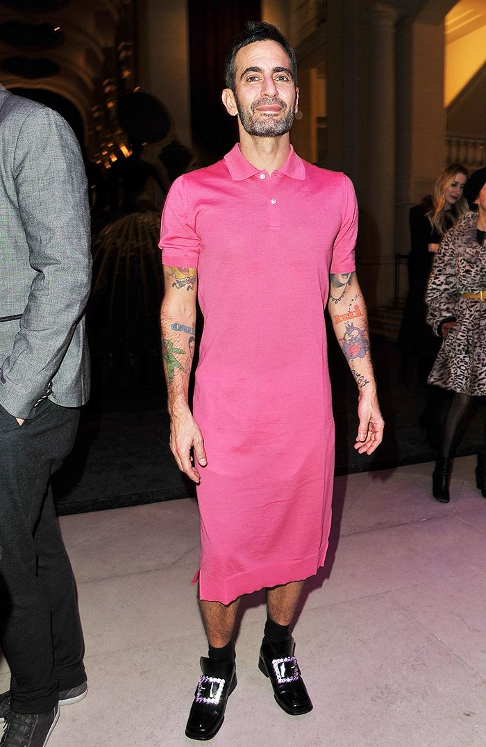 0293baba15e6 All the Times Marc Jacobs Wore a Skirt Better Than I Do ...