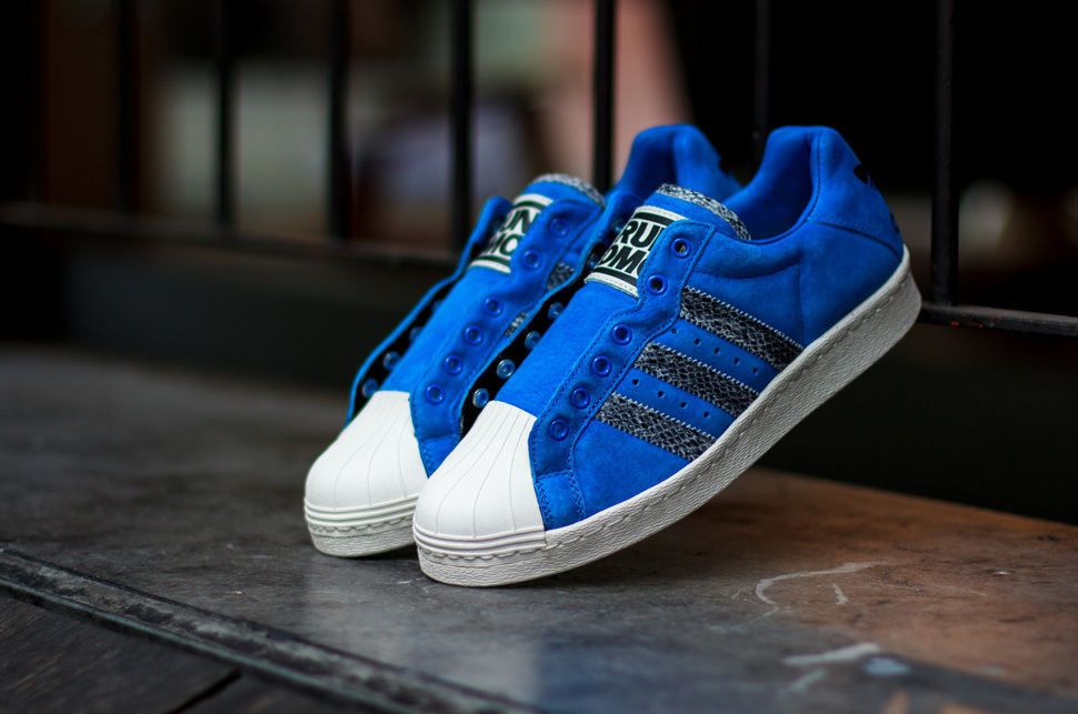 brand new f2be3 01ebc Adidas Ultrastar 80s Run DMC Originals Sneakers Bluebird M25316  179.00