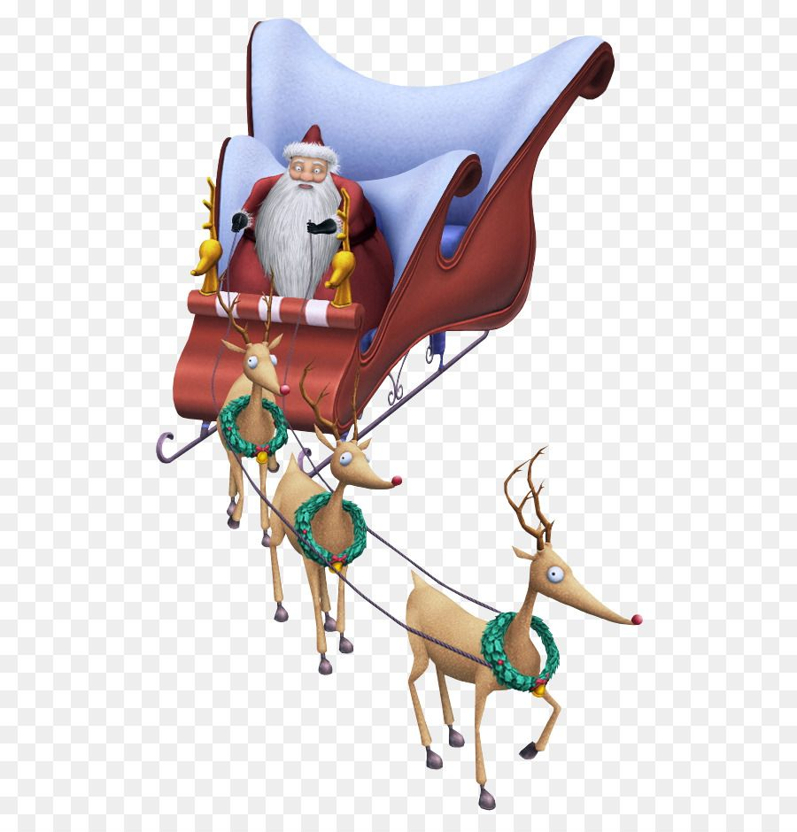 Santa Claus S Reindeer Santa Claus S Reindeer Christmas Santa Sleigh Png Is About Is About Nightmare Before Christmas Christmas Reindeer Santa Claus Reindeer