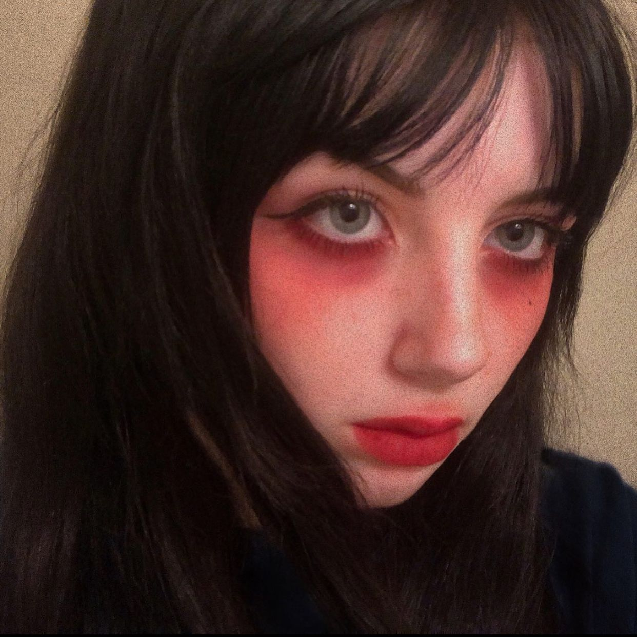 20 Inspiration Of Egirl Makeup You Can Do In 2020 In 2020 Aesthetic Hair Dyed Hair Split Dyed Hair