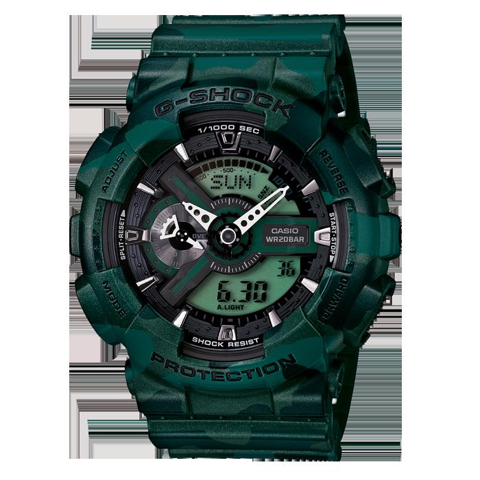 GShock Camouflage Casio, G shock, Casio watch