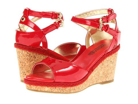 MICHAEL Michael Kors Kids Rosemary (Youth) Red - Zappos.com Free Shipping  BOTH Ways -Could be a perfect prom shoe. Maybe for the girls who don t like  to ... 345ac346ca3b
