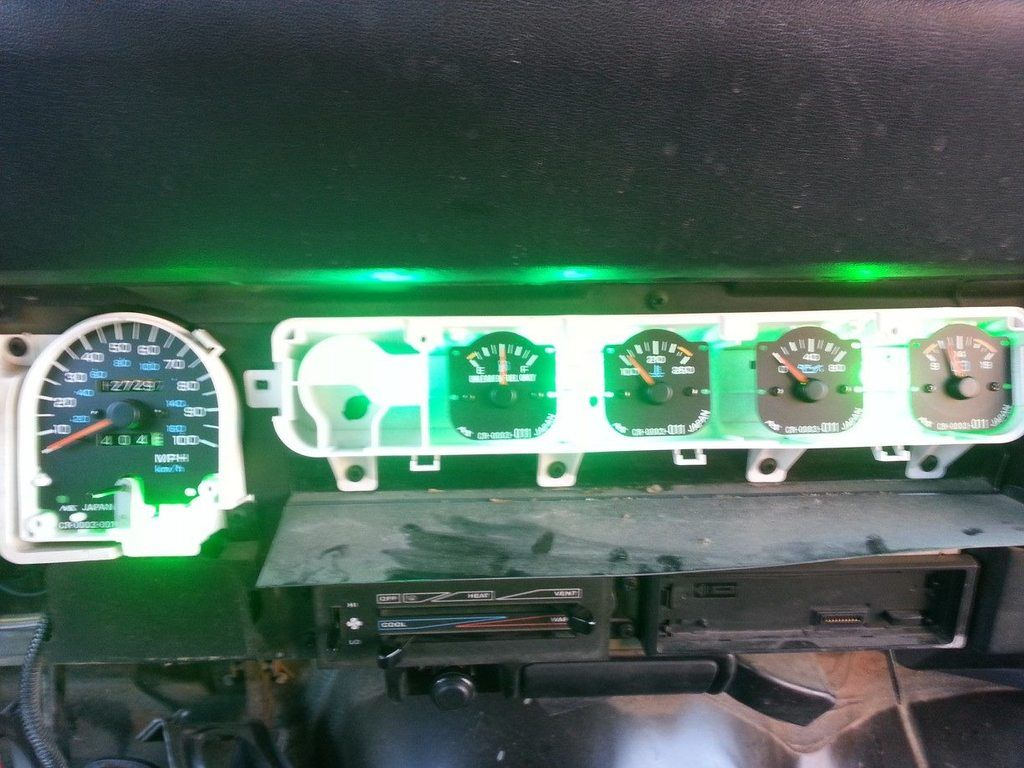 Led dash 95 yj step by step jeep wrangler forum